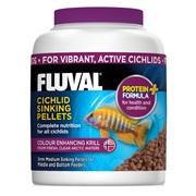 Fluval Cichlid Medium Sinking Pellets, 150 g