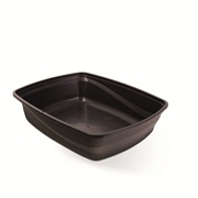 Cat Love Open Cat Pan - Charcoal