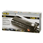GLO T8 Conventional Fluorescent Lighting System for 1 x 20 W T8 bulb