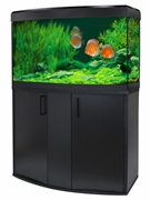 Fluval Vicenza 180 Black LED Aquarium Kit