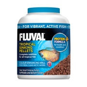Fluval Tropical Small Sinking Fish Pellets, 90 g