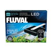 Fluval Nano Aqualife & Plant  Performance LED Lamp, 8W, 14 cm x 15.5 cm (5.5 in x 6 in)