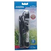 """Marina Submersible Aquarium Heater, Mini 25W, 15 cm (6"""")"""