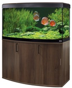 Fluval Vicenza 260 LED Walnut Aquarium Kit