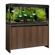Fluval Roma 240 LED Aquarium walnut