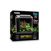 Fluval Spec Aquarium Kit - White - 10 L (2.6 US gal)