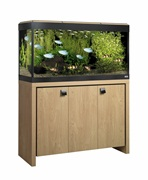 Fluval Roma 200 Cabinet Oak with Black Insert
