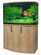 Fluval Vicenza 180 Oak LED Aquarium Kit
