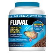Fluval Tropical Fish Medium Sinking  Pellets, 150 g