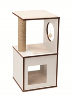 Vesper V-Box - White - Small - 37 x 37 x 72.5 cm