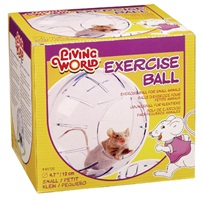 Living World Exercise Ball with StandSmall