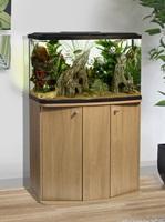 Marina Vue 87 Aquarium Cabinet Oak
