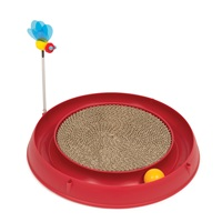 Catit Play 3 in 1 Circuit Ball Toy with Scratch Pad