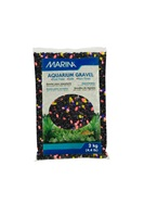 Marina Decorative Aquarium Gravel, Neon Twilight, 2 Kg (4.4 lbs)