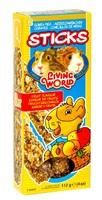 Living World Guinea Pig Sticks, Fruit Flavoured,112 g (4 oz) - 2 pack