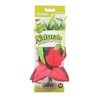 Marina Naturals Red & Green Pickerel Silk Plant, M