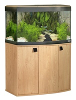 Vicenza 260 Bow Fronted Aquarium Natural Oak