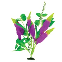 "Marina Naturals Indigo & Green Sword Leaf Silk Plant - Large - 33 - 35.5 cm (13-14"")"