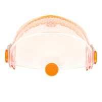Habitrail OVO Retractable RoofClear & Clear Orange