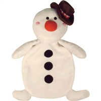 "Dogit Christmas 2011 Small Dog Clothing & Toy Collection,  Snowman Flopper Toy with squeaker  (20 cm / 8"")"