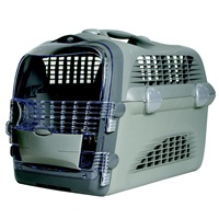 Catit Design Cabrio Cat Multi-Functional Carrier System, Gray/Gray