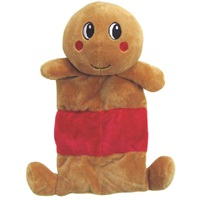 "Dogit Christmas 2012 Small Dog Toy & Apparel Collection - Mat Toy with squeaker (25.5 cm / 10""), Gingie"