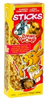 Living World Rabbit Sticks Popcorn Flavour 112 g (4 oz) - 2/Pack