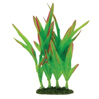 "Marina Naturals Green Foreground Silk Plant - Small - 12.5 - 15 cm (5-6"")"