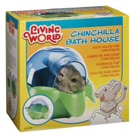 Living World Chinchilla Bath House