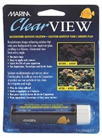 Marina ClearView, background adhesive solution