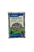 Marina Decorative Aquarium Gravel, Grey Tones, 10 Kg  (22 lbs)