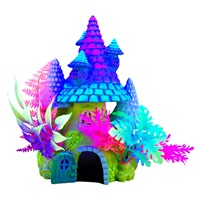 Marina iGlo Ornament - Fantasy House with Plants - 20cm