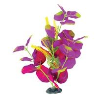 "Marina Naturals Indigo & Deep Red Moneywort Silk Plant - Medium - 23 - 25.5 cm (9-10"")"