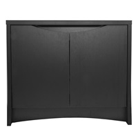 Fluval FLEX Deluxe Aquarium Stand - Black - 82.88 x 42 x 75.5 cm (32.5 x 16.5 x 29.7 in)