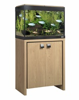 Fluval Roma 90 Cabinet Oak with Black insert