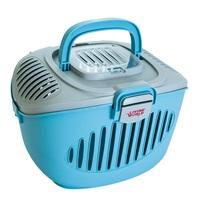 LW Paws2Go - Small Pet Carrier - Blue (L36 cm x W28 cm x H25 cm)