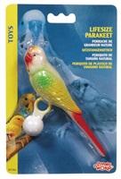 Living World Lifesize Perch Parakeet