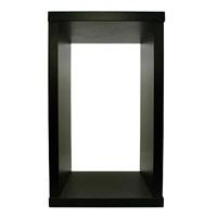 "Fluval Nano Stand - Short - Gloss Black - 21.5""H x 12.6""W x 12.6""D (54.5 cm x 32 cm x 32 cm)"