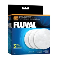 Fluval FX5/FX6/FX4 Water Polishing Pad, 3 Pack