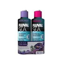 Fluval Sea Alkalinity and Calcium Duo Pack, 473 mL each