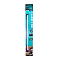 Fluval Sea Marine & Reef Full Spectrum Performance LED Strip Light, 46W, 122 cm - 145 cm (48 in - 57 in)