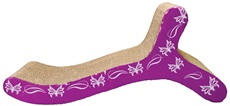 Catit Style Patterned Cat Scratcher with catnip - Butterfly,Chaise