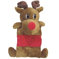 "Dogit Christmas 2012 Small Dog Toy & Apparel Collection - Mat Toy with squeaker (25.5 cm / 10""), Reindeer"