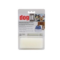 Dogit Drinking Fountain (73651), Replacement Small/Large Foam Filter Insert  (2pc pkg)