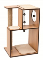 Vesper V-Box - Walnut - Large - 50 x 40 x 78 cm