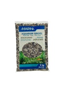 Marina Decorative Aquarium Gravel, Grey Tones, 2 Kg (4.4 lbs)