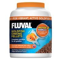 Fluval Goldfish Medium Sinking Pellets, 150 g