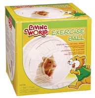 Living World Exercise Ball with StandMedium