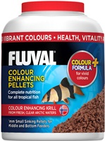 Fluval Colour Enhancing Small Sinking Pellets, 90 g