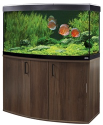 Fluval Vicenza 260 Cabinet Walnut